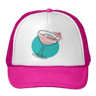 retro margarita design mesh hats