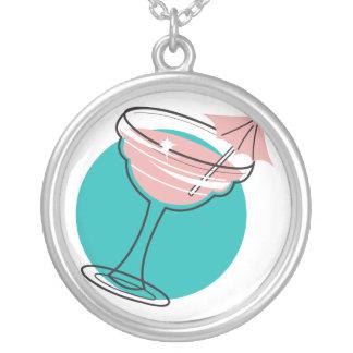 retro margarita design necklace