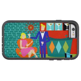 Retro Martini Couple iPhonw 6 Case
