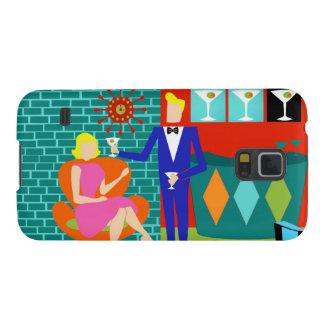 Retro Martini Couple Samsung Galaxy S5 Case