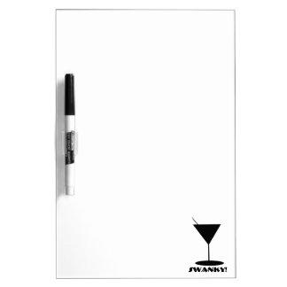 Retro Martini Glass Dry-Erase Board
