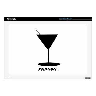 Retro Martini Glass Laptop Skins