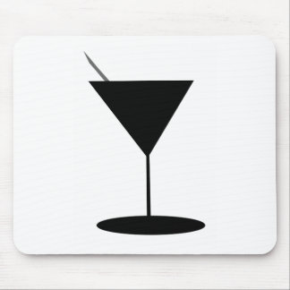 Retro Martini Glass Mouse Pad