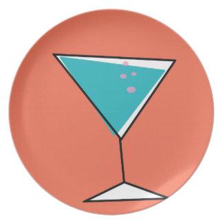 Retro Martini Plate