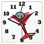 Retro Martini Time Clock