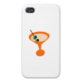 Retro Martini Time iPhone 4 Cases