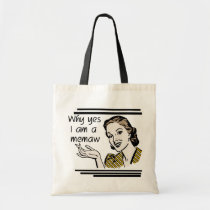 Retro Memaw T-shirts and Gifts Tote Bag