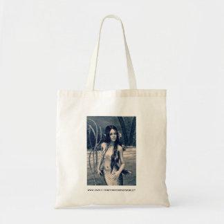 Retro Mermaid Tote Bag