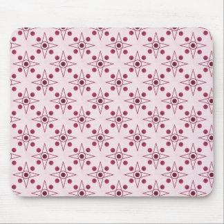 Retro-metric Mousepad, Fuchsia Mouse Pad