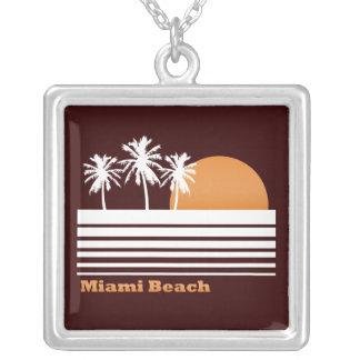 Retro Miami Beach Necklace
