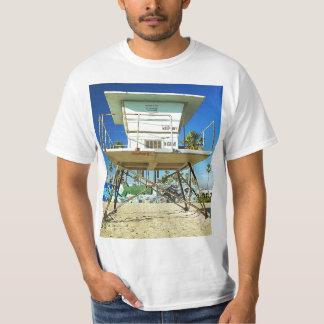 Retro Miami Life Guard Stand T-shirt