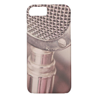 Retro Mic iPhone 7 Case