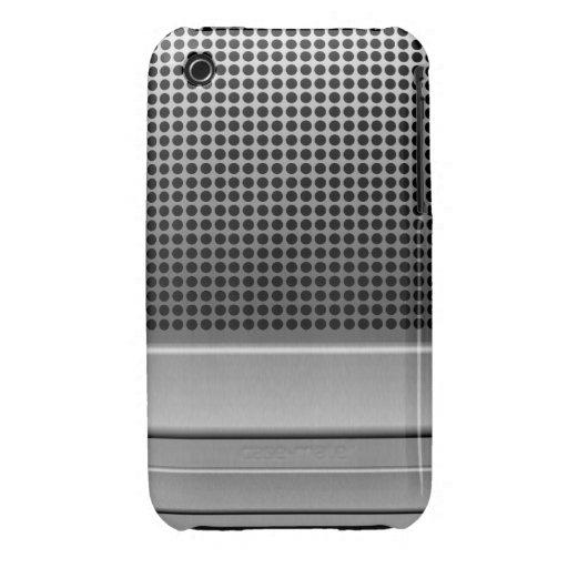 Retro Microphone Design iPhone 3 Covers