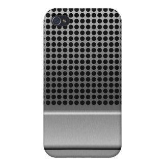 Retro Microphone Design iPhone 4/4S Cover