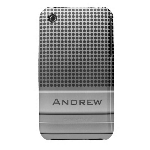 Retro Microphone Name Template Case-Mate iPhone 3 Cases