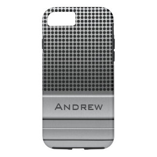 Retro Microphone Name Template iPhone 8/7 Case