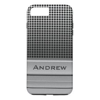 Retro Microphone Name Template iPhone 8 Plus/7 Plus Case
