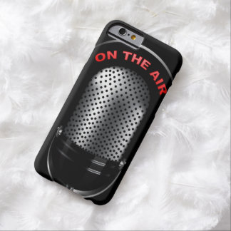 Retro Microphone On The AIr Sign Barely There iPhone 6 Case