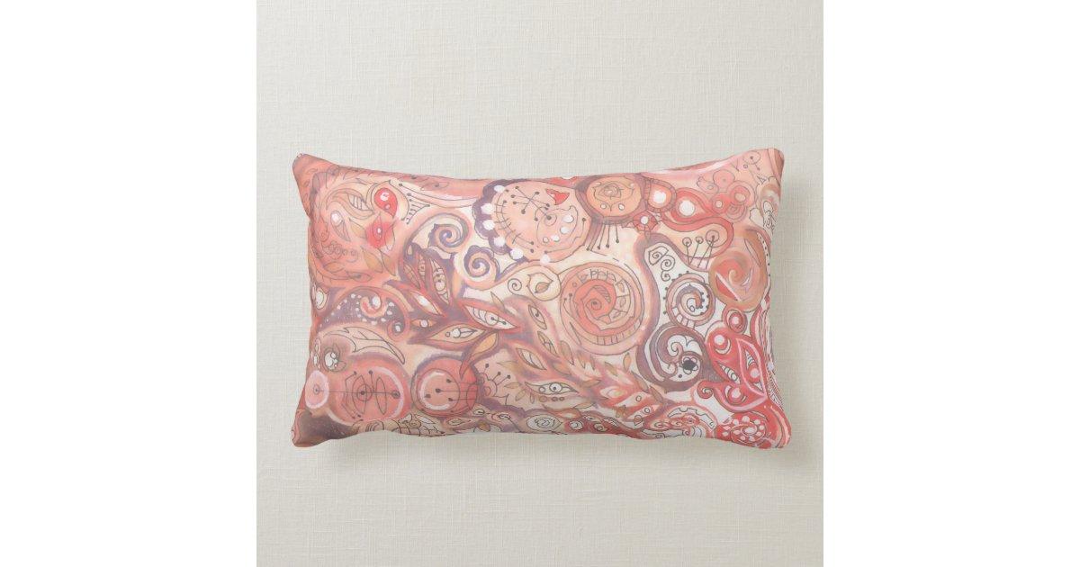 Retro Mid-Century Modern Abstract Decor - Pillow Zazzle