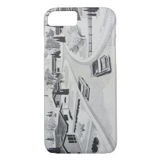 Retro Mid-century Modern Design iPhone 7 Case