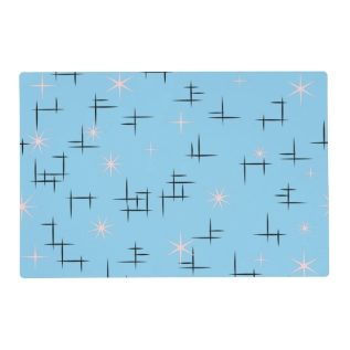 Retro Mid Century Modern Placemat at Zazzle