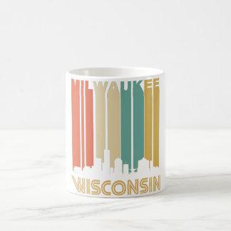 Retro Milwaukee Skyline Coffee Mug