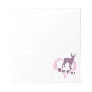 Retro Min Pin Notepad