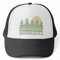 Retro Minnesota Trucker Hat