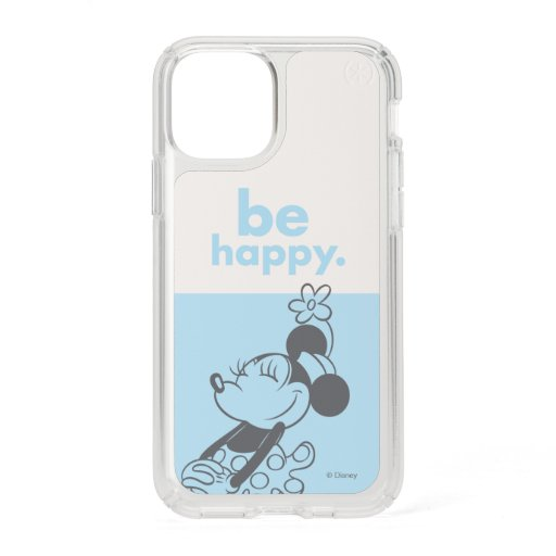 Retro Minnie Mouse - Be Happy Speck iPhone 11 Pro Case