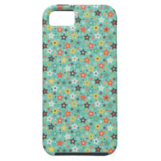 Retro Mint stars iPhone 5 Cover