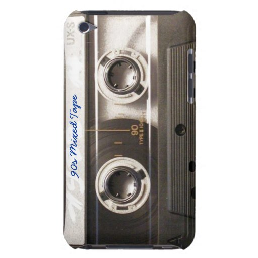 Retro Mixed Cassette Tape iPod Cases iPod Case-Mate Case