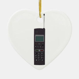 Retro Mobile phone Ceramic Ornament