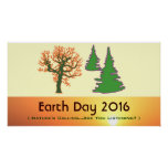 Retro Mod Earth Day 2016 Print