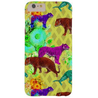 retro mod jungle cats iPhone case