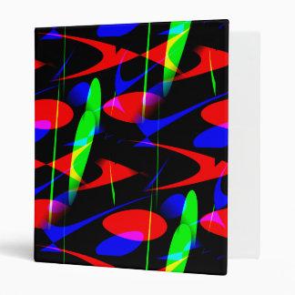 Retro Modern Abstract Binders