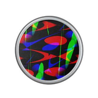 Retro Modern Abstract Bluetooth Speaker