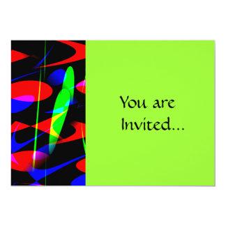 Retro Modern Abstract Card