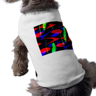 Retro Modern Abstract Doggie Tee