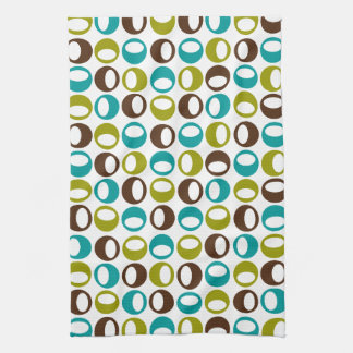 Retro Modern Abstract Kitchen Towel