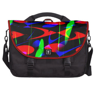 Retro Modern Abstract Laptop Bag