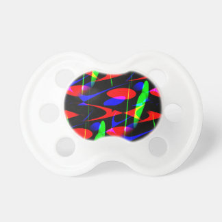Retro Modern Abstract Pacifier