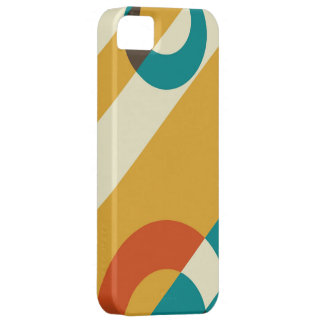 Retro Modern Colorful Fifties Graphic iPhone SE/5/5s Case