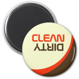 Retro Modern Orbit Clean/Dirty Dishwasher Magnet