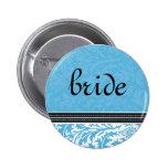 Retro Modern Thistle-Bride Button