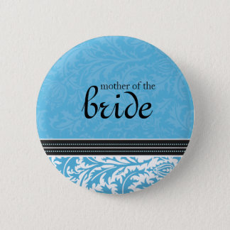 Retro Modern Thistle-Mother of the... - Customized Button