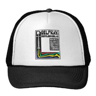 retro modern vintage advertisement: paintbrush trucker hat
