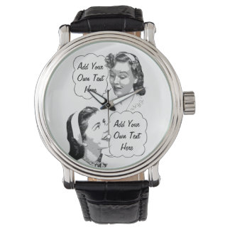 Retro Mom and Daughter Watches