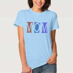 Women's Basic T-Shirt with Retro Mom design