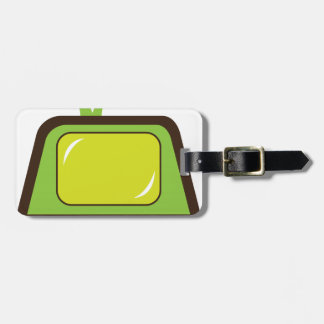 Retro monster antenna TV Tag For Luggage