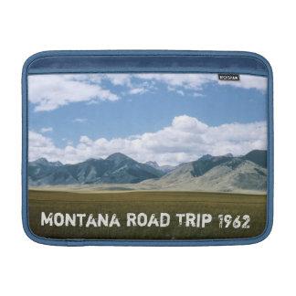 Retro Montana Road Trip MacBook Sleeve